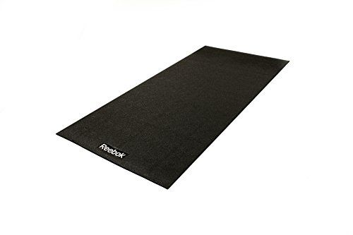 Reebok CV Treadmill Mat - Black, 200 x 100cm The Reebok cardiovascular treadmill mat protects flooring, reduces noise and improves stability. This durable floor mat is perfect for cardiovascular machines. The mat is (Barcode EAN = 5054184629699) http://www.comparestoreprices.co.uk/december-2016-5/reebok-cv-treadmill-mat--black-200-x-100cm.asp