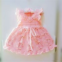 Handmade crochet baby dress 2014 princess dress design for baby girl sleeveless hollow out sweater dresses, View Handmade crochet baby dress 2014, Smile Product Details from Zhongshan Smile Fashions Limited on Alibaba.com