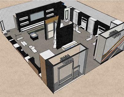 "Check out new work on my @Behance portfolio: ""ZARA store design concept"" http://be.net/gallery/36710835/ZARA-store-design-concept"