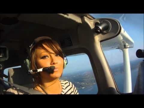 Part 2 of Hanne's flight training as seen on askcaptainscott.com. How to turn without loosing altitude, how to control airspeed, how to control altitude. Scott gives Hanne the basic fundamental of how to fly a plane in this video.
