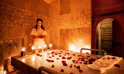 SPA: Rejuvenate your mind and body by Moroccan Bath Dub...