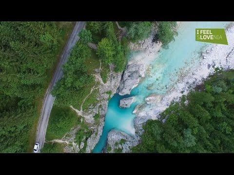 I feel Soča Valley, Slovenia (DJI Phantom 3)