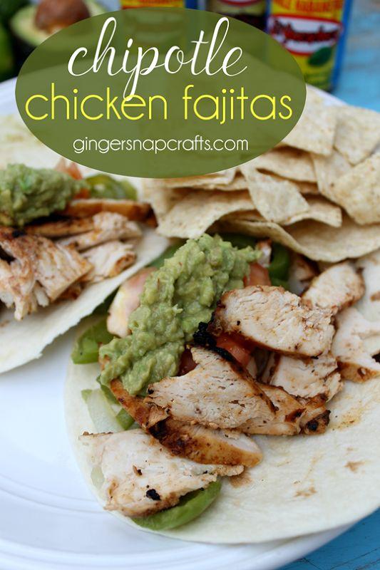 Chipotle Chicken Fajitas {recipe}