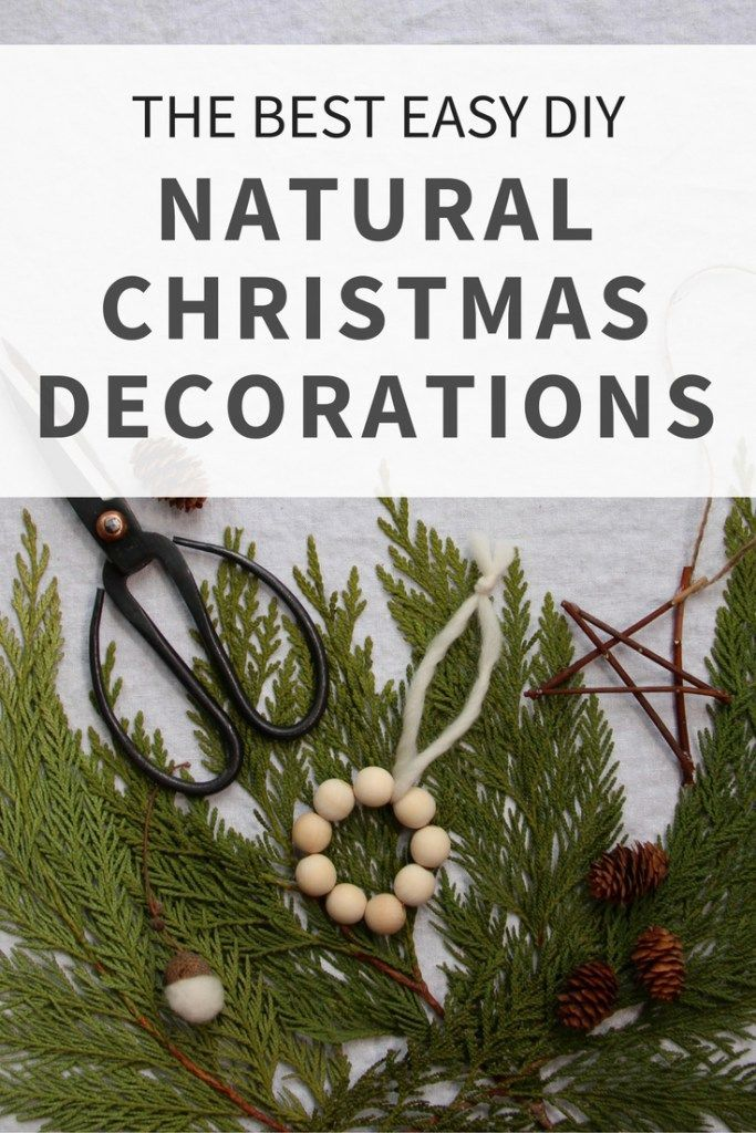 These easy holiday ornaments are perfect to DIY this Christmas! This classic holiday decor includes wreaths, ornaments, and other holiday crafty activities! | from Home for the Harvest #naturalcrafts #christmascrafts #rusticholiday #simplechristmas