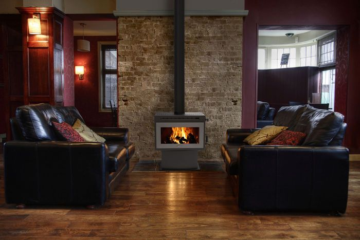 F3000 Freestanding Wood Fire, Solid Fuel Fireplaces