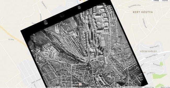 Meg minden más helyén is. A weblapon archív légifelvételek között böngészhetünk, melyek felfedik az ország régi arcát.