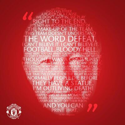So much love for this man! Thank you Sir Alex!!