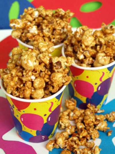 POP CORN AL CARAMELLO (come quelli del cinema)