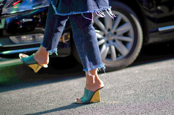 Spring forward with the season's most coveted shoe, according to The Chicest Degree.