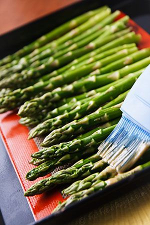 Wasabi-Roasted Asparagus.  Visit our website at http://www.vikingfitnesscenters.com for a FREE TRIAL PASS
