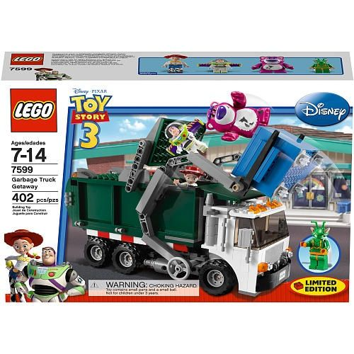 LEGO Toy Story 3 Exclusive Limited Edition Set #7599 Garbage Truck Getaway by LEGO - Shop Online for Toys in NZ