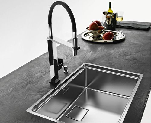 The Award Winning Centinox Kitchen Sink, New For 2011, By Franke Boasts A  Perfect