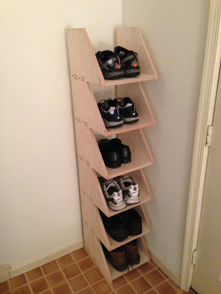 DIY shoe storage. NEED FOR PURSE STORAGE