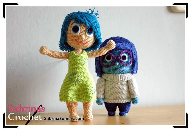 Joy - Inside Out - Free Crochet Pattern - Amigurumi
