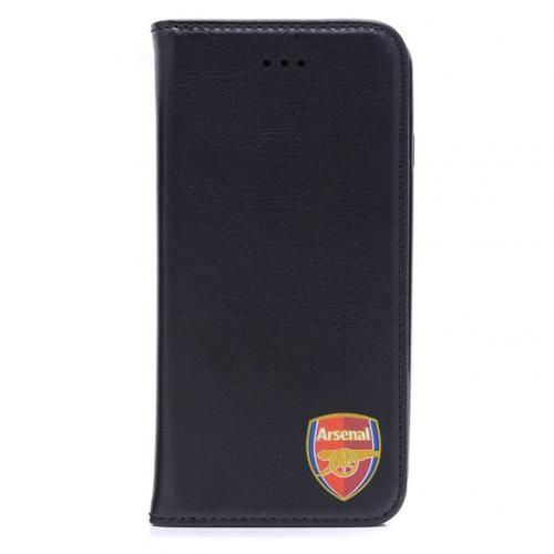 Smart Arsenal case for an iPhone 7 with money pocket, built in stand and featuring the club crest. FREE DELIVERY on all of our gifts