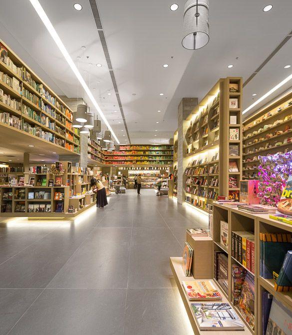 Book Shop Design   Retail Design   Book Display   760 - Studio Arthur Casas   Livraria Saraiva   Sao Paulo, Brasil