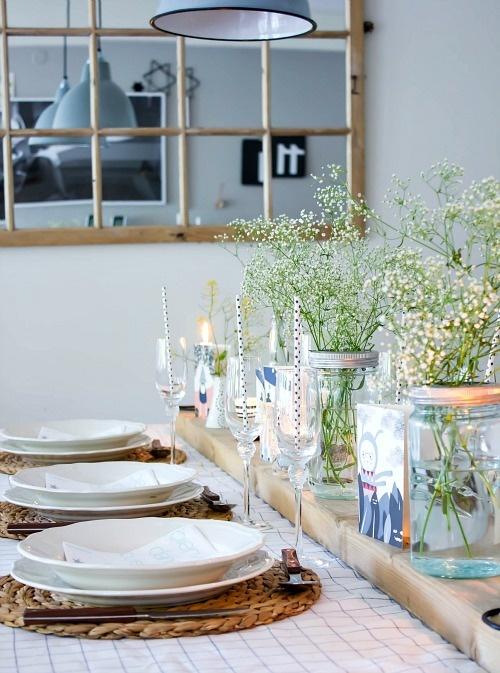 blad: Tips para ambientar una mesa