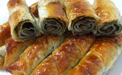 Basit Tarif: Pazılı Peynirli Rulo Börek