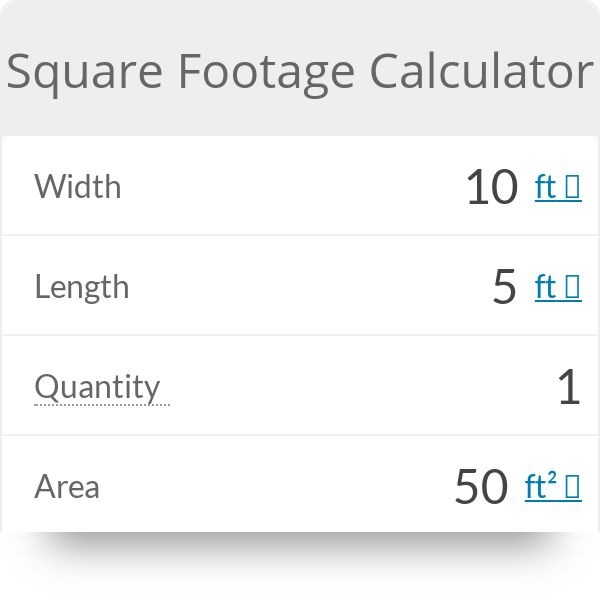 Square Footage Calculator (With images) | Square footage ...