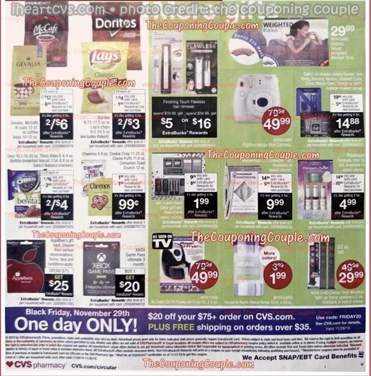 Cvs pharmacy black friday ad scan deals and sales 2019