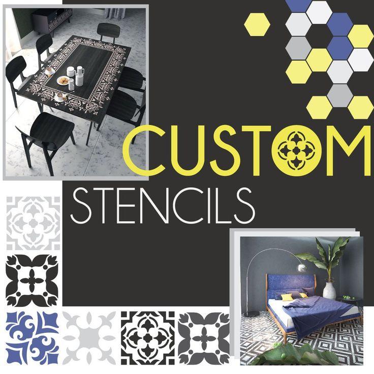 Custom Made Stencil