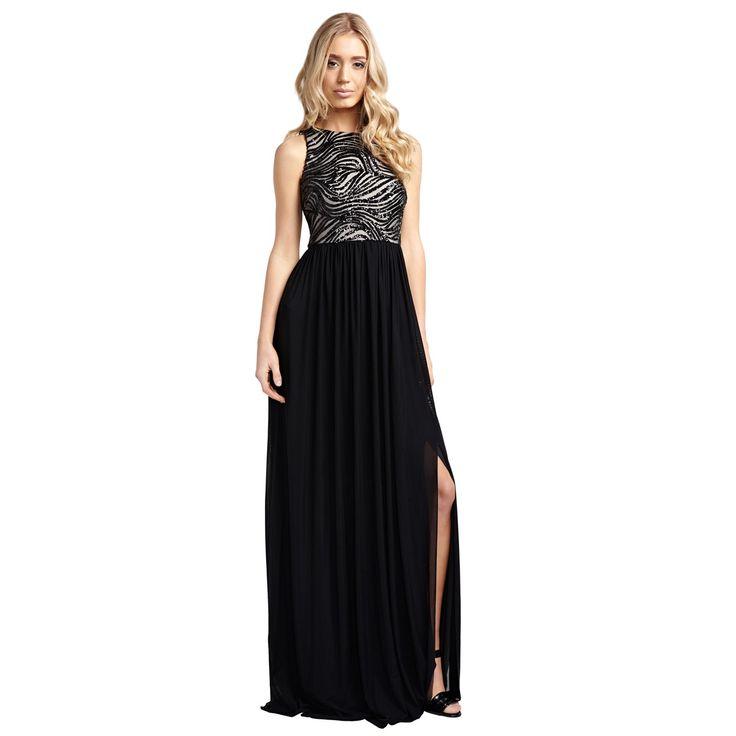 V line evening dress accessories