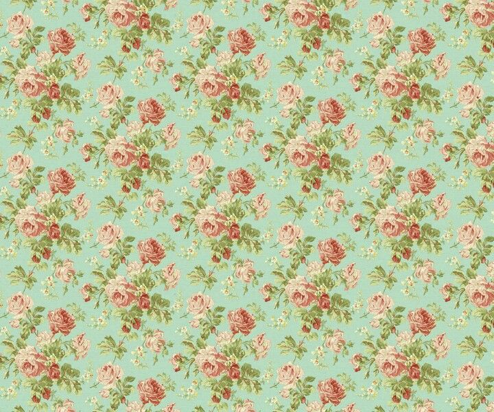 Vintage wallpaper for the home incuding shabby chic for Wallpaper home vintage