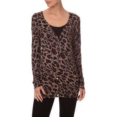 3 SUISSES - Lange cardigan met luipaardprint MORGAN