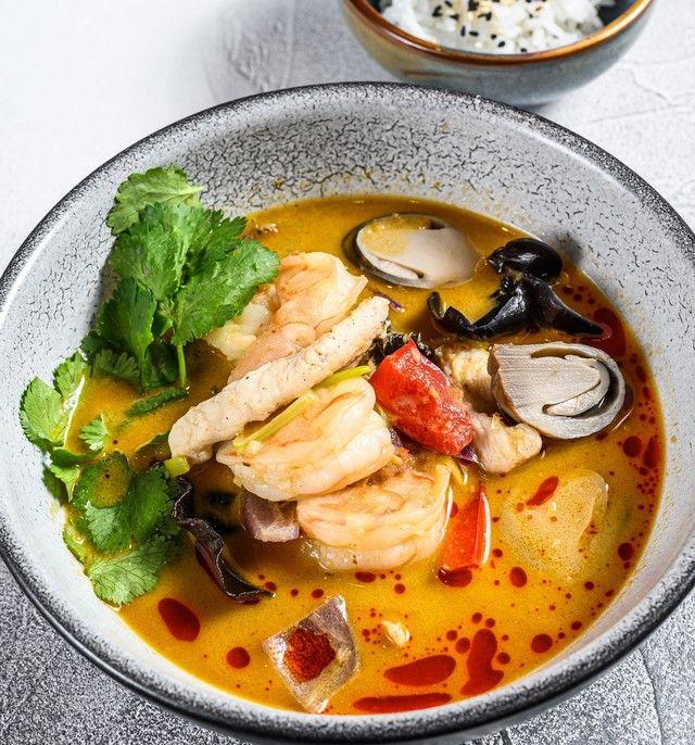 Resep Tomyam Seafood Ala Restoran Yang Pedas Menyegarkan Resep Di 2020 Resep Makanan Makanan Laut Resep