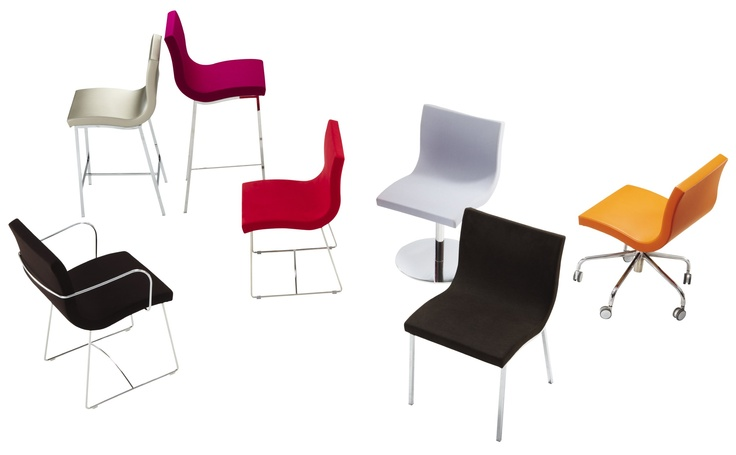 Sala, by Pascal Mourgue, is one of our most popular chairs, and comes in different options for feet.Offices Suits, Most Popular, Popular Chairs, Pascale Mourgue, Executive Offices