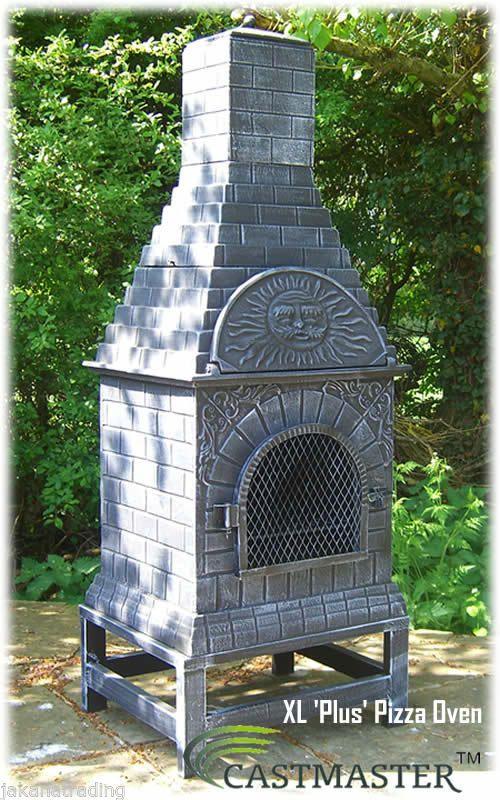 Details About Castmaster Outdoor Garden Cast Iron Pizza