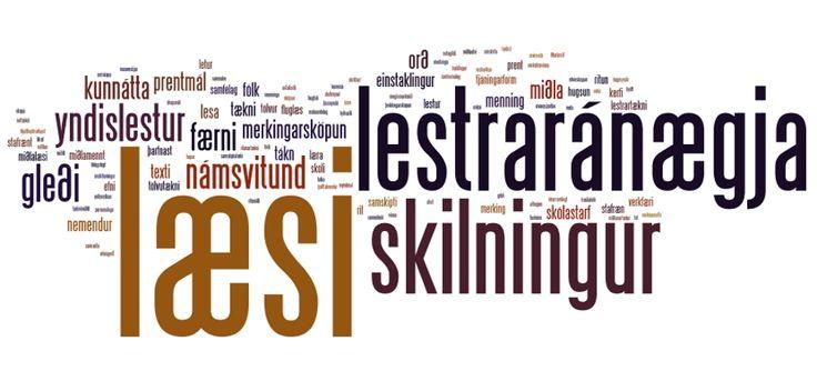 Læsi - skilningur og lestraránægja | Miðstöð skólaþróunar við HA