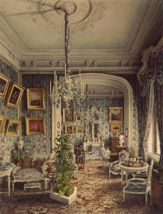 "Pavel Stroganov's Mansion on Sergievskaya Ulitsa,St Petersburg,Russia. ""AL"""