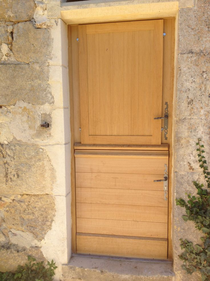 17 best images about portes d 39 entree on pinterest for Porte fermiere bois