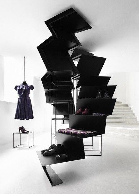 Visual Merchandising | Display: Saks Fifth Avenue Store Interior by Guise