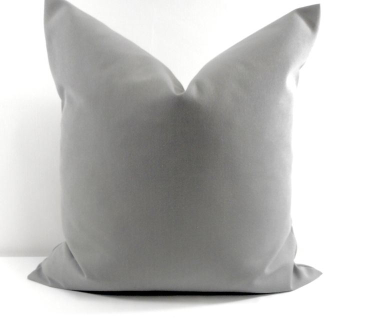 nickel grey pillow cover 20x20 solid color sofa pillow cover dark grey sham pillow pillow cushion pillow cover