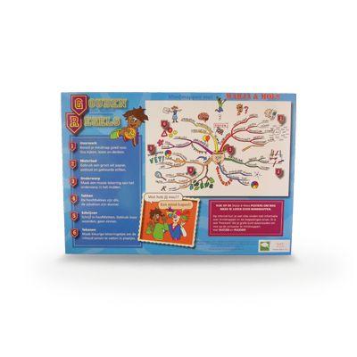 Mindmappakket. Een krachtig hulpmiddel bij het structureren en onthouden van informatie. Kinderen leren hoofd- en bijzaken van elkaar onderscheiden. Bij uitstek geschikt voor leervakken waar langere stukken tekst behandeld worden en ook bij het ontwerpen van spreekbeurten en werkstukken.