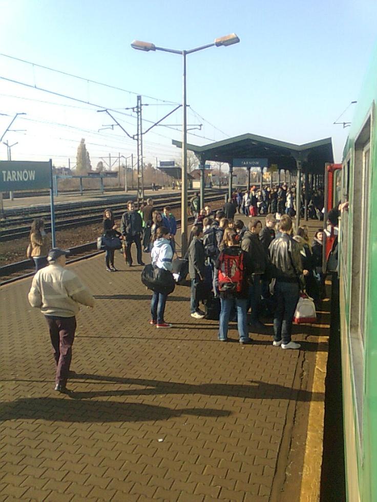railstation in Poland