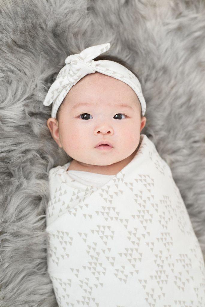Organic Cotton Baby Swaddle Blanket | Oak Geo – VONBON