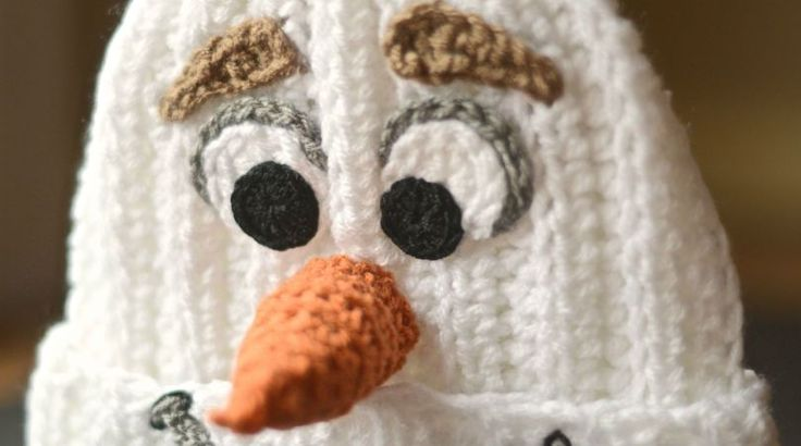 Homemade Crocheted Olaf Hat | Make: DIY Projects, How-Tos, Electronics, Crafts and Ideas for Makers