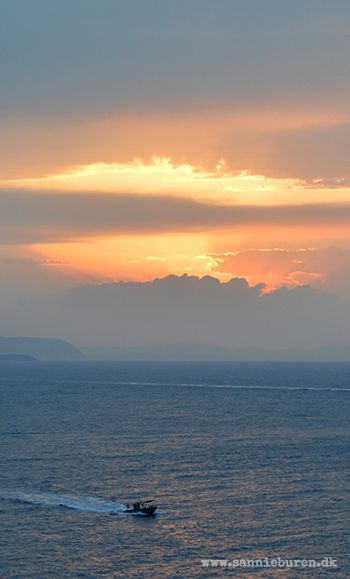 Impressions from Hydra, Greece, September 2016 © Sannie Terese Burén #Sunset