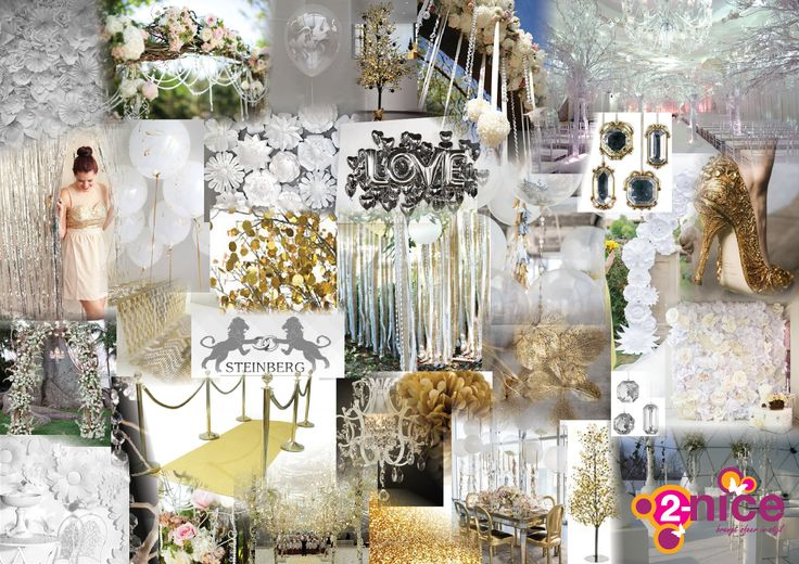 www.2-nice.nl Moodboard, Collage, Event, Styling, Visual, Gold, Radio 538, Steinberg, Sfeer, Goud, Aankleding, Decoratie