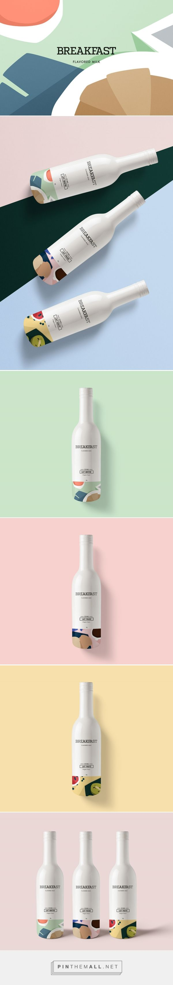 Breakfast Flavored Milk Packaging by Kali day | Fivestar Branding Agency – Design and Branding Agency & Curated Inspiration Gallery