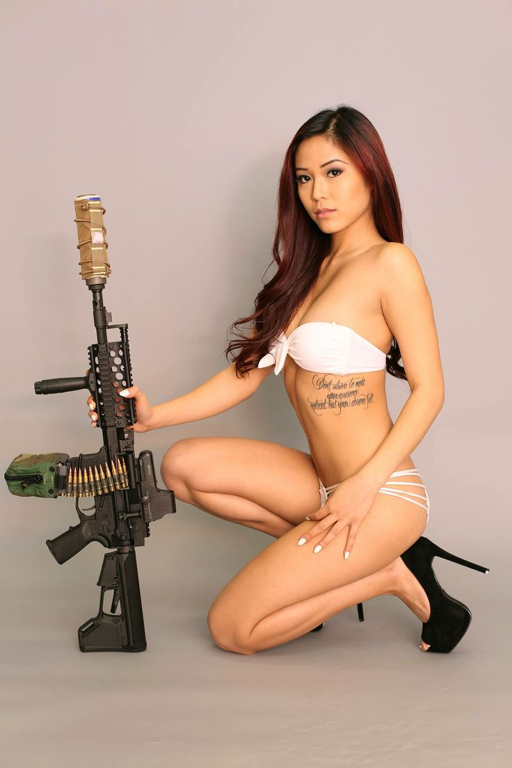Are mistaken. Japanese girls with airsoft guns shooting similar situation