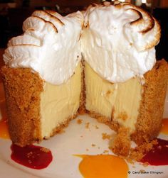 Key Lime Pie from Olivia's Café at Disney's Old Key West Resort--looks amazing!