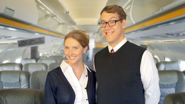 A fun airplane themed pre wedding video! #wedding #video