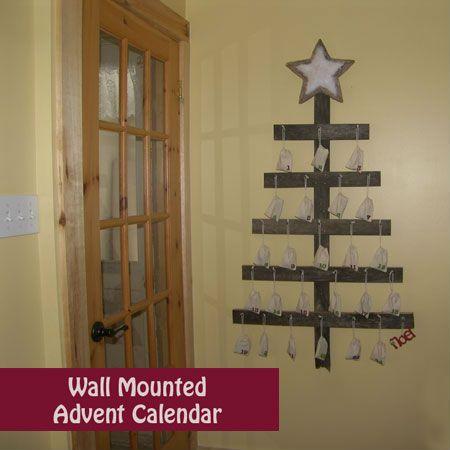 Wall Mounted Advent Calendar