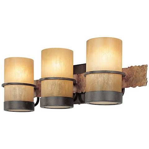 "Jabandi 22"" Wide Bath Light - #H6839 | Lamps Plus"