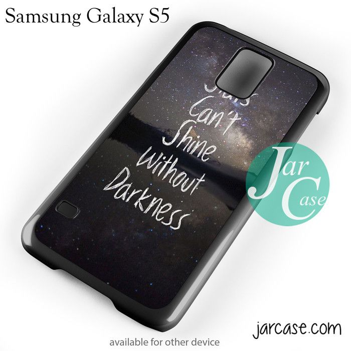 Stars quote YP Phone case for samsung galaxy S3/S4/S5