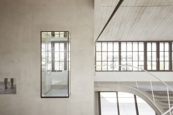 There's consistent brightness throughout the space thanks to the expansive windows